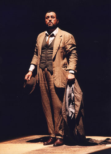 As Don Alfonso in Essen in a Johannes Schaaf production of Così fan tutte.