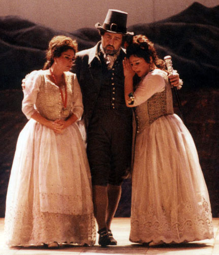 As Don Alfonso in Santiago of Chile in a production of Così fan tutte by Michael Hampe.